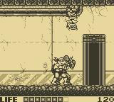 Teenage Mutant Ninja Turtles:  Fall of the Foot Clan Game Boy Level 2: Sewer