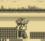 Teenage Mutant Ninja Turtles:  Fall of the Foot Clan Game Boy Level 3: Highway Battle