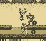 Teenage Mutant Ninja Turtles:  Fall of the Foot Clan Game Boy Level 4:  The River