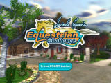 Lucinda Green's Equestrian Challenge PlayStation 2 Front-End - Title Screen
