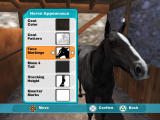 Lucinda Green's Equestrian Challenge PlayStation 2 Front-End - Create Horse - Horse Appearance