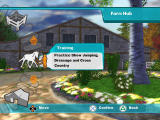 Lucinda Green's Equestrian Challenge PlayStation 2 Front-End - Farm Hub - Training