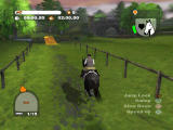 Lucinda Green's Equestrian Challenge PlayStation 2 In-Game - Training- Cross Country