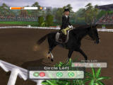 Lucinda Green's Equestrian Challenge PlayStation 2 In-Game - Kentucky - Dressage