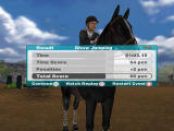 Lucinda Green's Equestrian Challenge PlayStation 2 In-Game - Results - Show Jumping