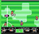 Kunio-kun no Nekketsu Soccer League  NES Weather conditions leave a lot to be desired...