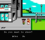 Crash 'N the Boys: Street Challenge NES Do you want to go shopping with me?
