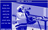 Wayne Gretzky Hockey DOS Time-Out Screen