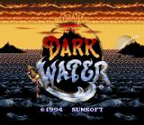 The Pirates of Dark Water SNES Title screen