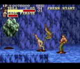 The Pirates of Dark Water SNES Don't get hit by the rock or pushed into the chasm!