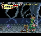 The Pirates of Dark Water SNES Strong attacks can hit several enemies at once