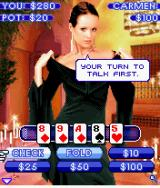 Sexy Poker: Top Models J2ME A regular game of poker against Carmen, your first opponent