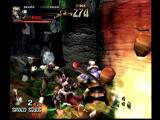 Soul Fighter Dreamcast Near miss with a catapult.