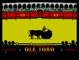 Olé, Toro ZX Spectrum Well done
