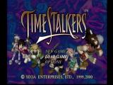Time Stalkers Dreamcast Main Menu