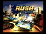 San Francisco Rush 2049 Dreamcast Splash screen