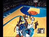 NBA 2K1 Dreamcast A practice game
