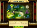 Bookworm Adventures Windows Book 3 map/chapter selection screen