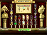 Bookworm Adventures Windows Treasure selection screen (choose 3)