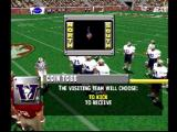 NCAA GameBreaker 2001 PlayStation The coin toss
