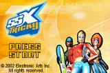 SSX Tricky Game Boy Advance Title screen