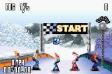 SSX Tricky Game Boy Advance Starting the race