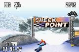 SSX Tricky Game Boy Advance It's an old-fashioned check point