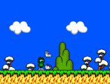 Sapo Xulé vs. Os Invasores do Brejo SEGA Master System Breaking some eggs on his way, Sapo Xulé finds his stink shoes.