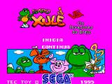 Sapo Xulé vs. Os Invasores do Brejo SEGA Master System Continue screen.