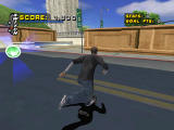 Tony Hawk's Pro Skater 4 PlayStation Shoving off.
