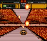 HyperZone SNES Dodge the fire!