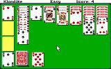Hoyle: Official Book of Games - Volume 2: Solitaire DOS Klondike