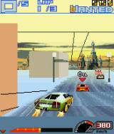 Asphalt 3: Street Rules J2ME The Lamborghini with a double boost