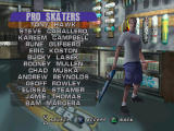 Tony Hawk's Pro Skater 3 PlayStation Pick your pro.