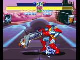 X-Men: Children of the Atom PlayStation Colossus doesn't need to control weather to put Storm through a tornado.
