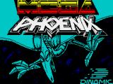 Mega Phoenix ZX Spectrum Loading screen