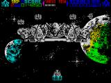 Mega Phoenix ZX Spectrum The main boss