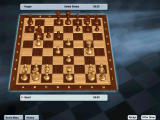 Kasparov Chessmate Windows 3D Staunton Rosewood Chessboard.
