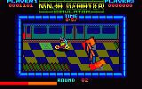 Ninja Scooter Simulator Amstrad CPC Utilize jumps to get past obstacles