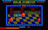 Ninja Scooter Simulator Amstrad CPC Slam! What did I crash into?