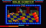 Ninja Scooter Simulator Amstrad CPC Flying through the air...