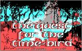 The Quest for the Time-Bird DOS Title screen (CGA)