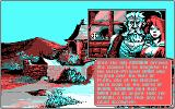 The Quest for the Time-Bird DOS Developing the story (CGA)
