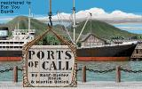 Ports of Call DOS Title screen