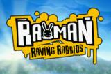 Rayman Raving Rabbids Game Boy Advance Title screen