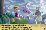 Rayman Raving Rabbids Game Boy Advance Rayman's captured!