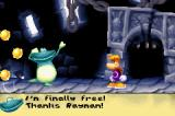 Rayman Raving Rabbids Game Boy Advance Rescued your buddy Globox!