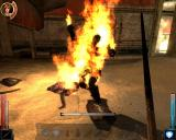 Dark Messiah: Might and Magic Windows You can easily kill your enemies by kicking them into fires.