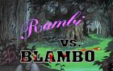 Wacky Funsters! The Geekwad's Guide to Gaming DOS Title for Rambi vs Blambo