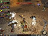 Dungeon Siege II: Broken World Windows My whole team versus a crossbowman